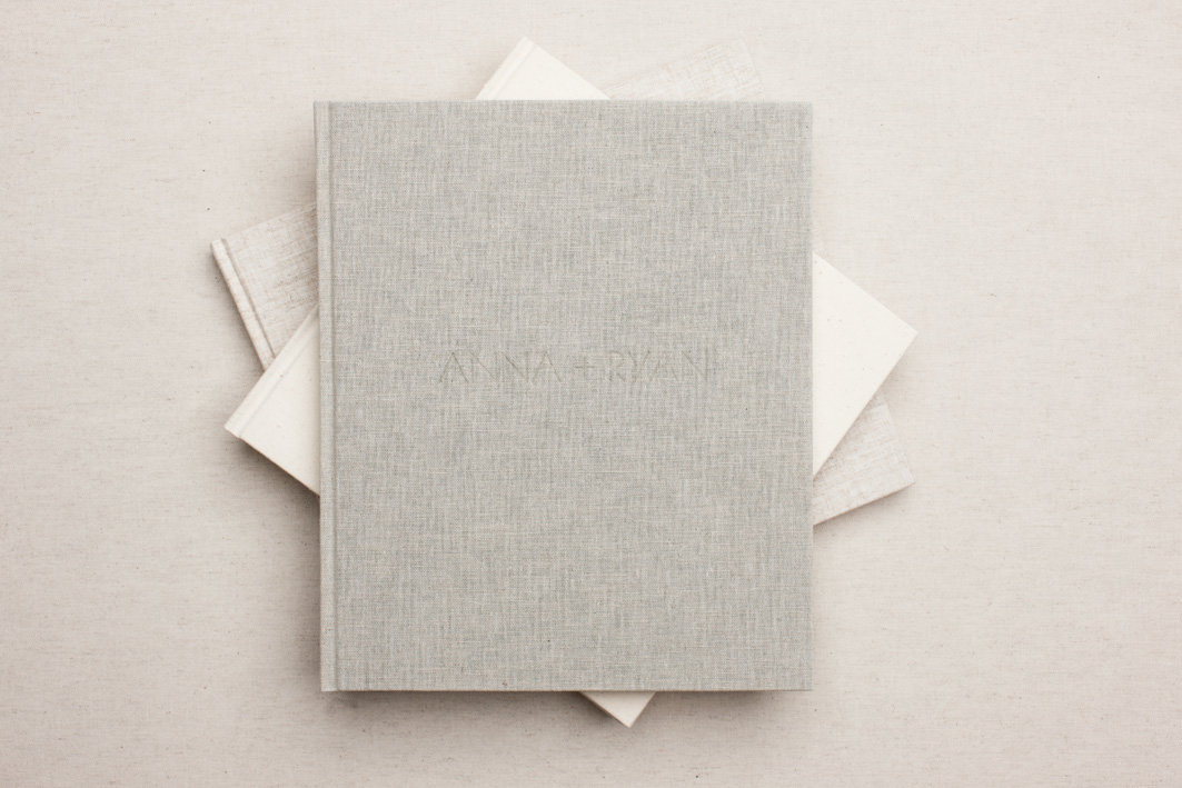 Iris Book - linen covers