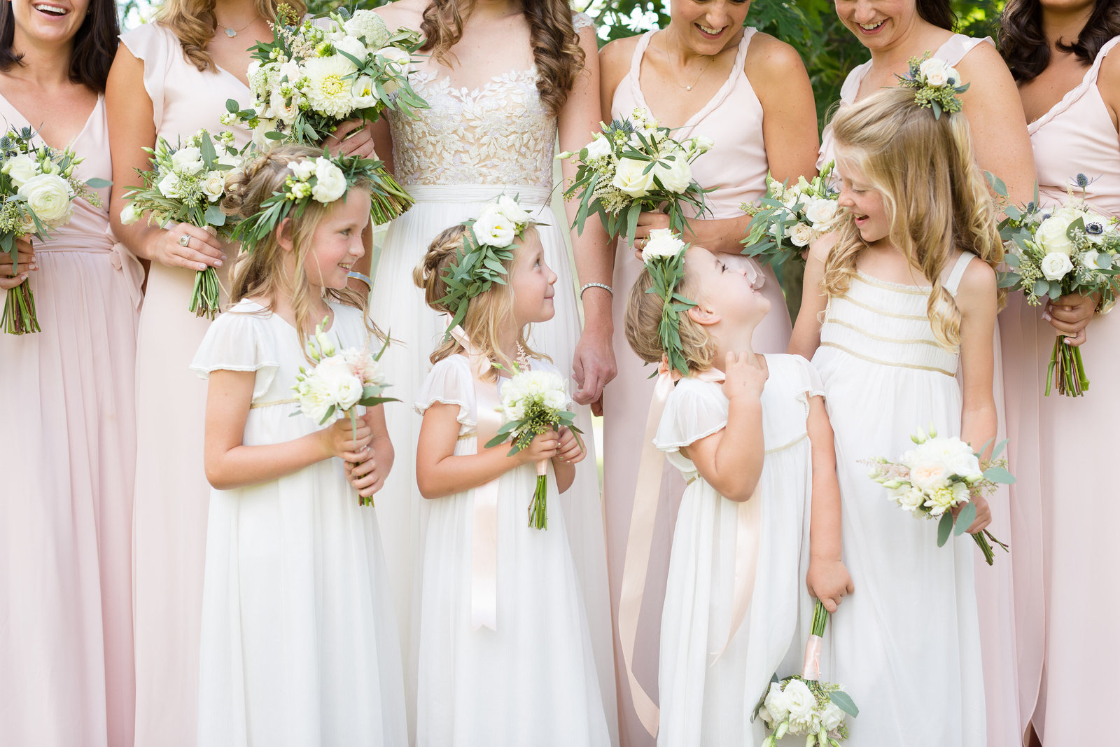Floral Crowns Flower Girls