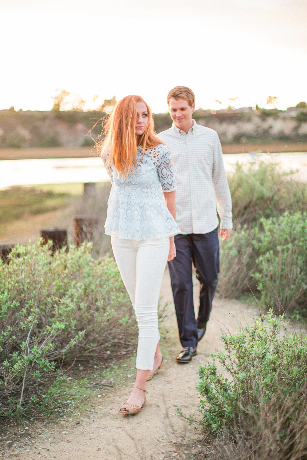 Alexis Brad Newport Beach Back Bay Engagement | © Hello Blue Photo-97