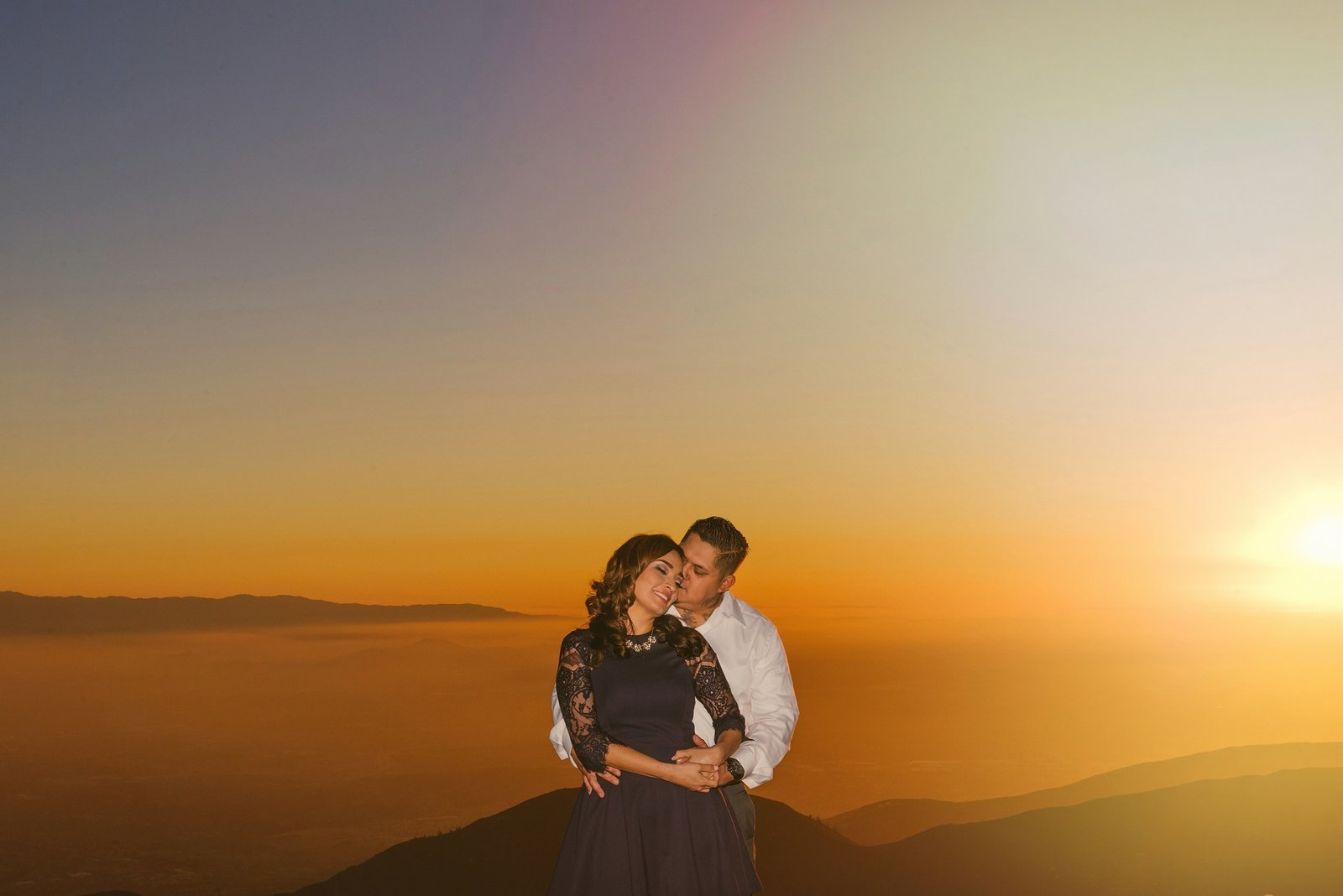 Wedding Photography sunset engagement