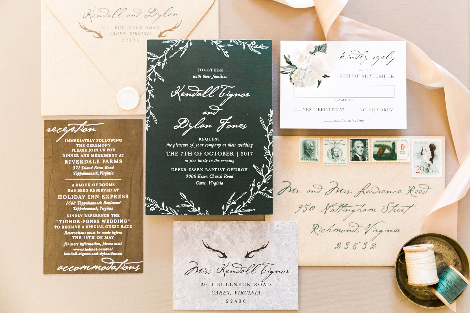 rustic_green_wedding_invitation