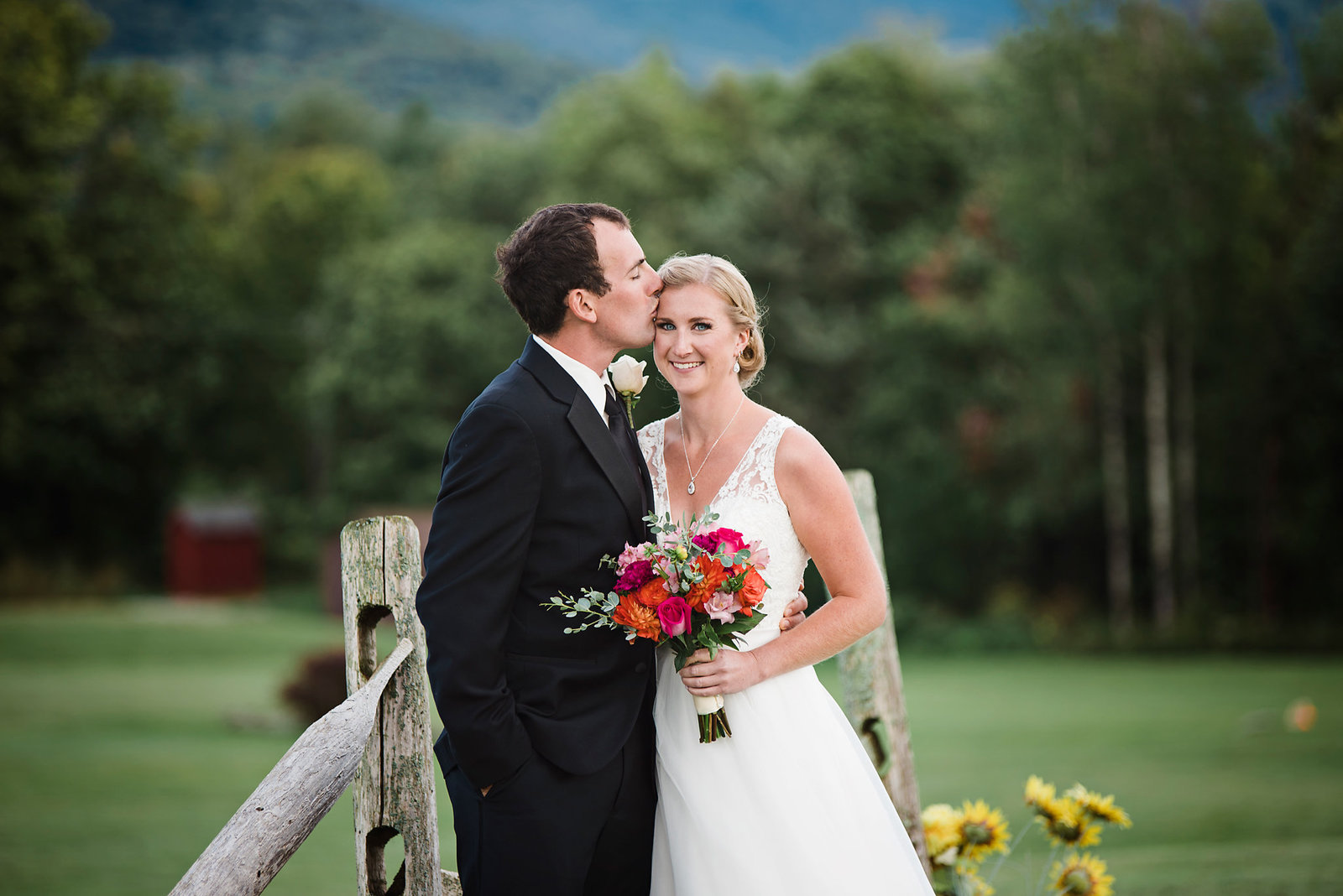 Mountain Top Inn wedding, fall wedding in Vermont, vibrant color palette fall wedding, Vermont wedding photographer