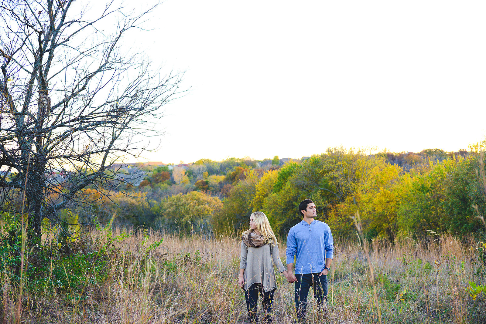 Engagement Pictures at Shawnee Mission Park-54
