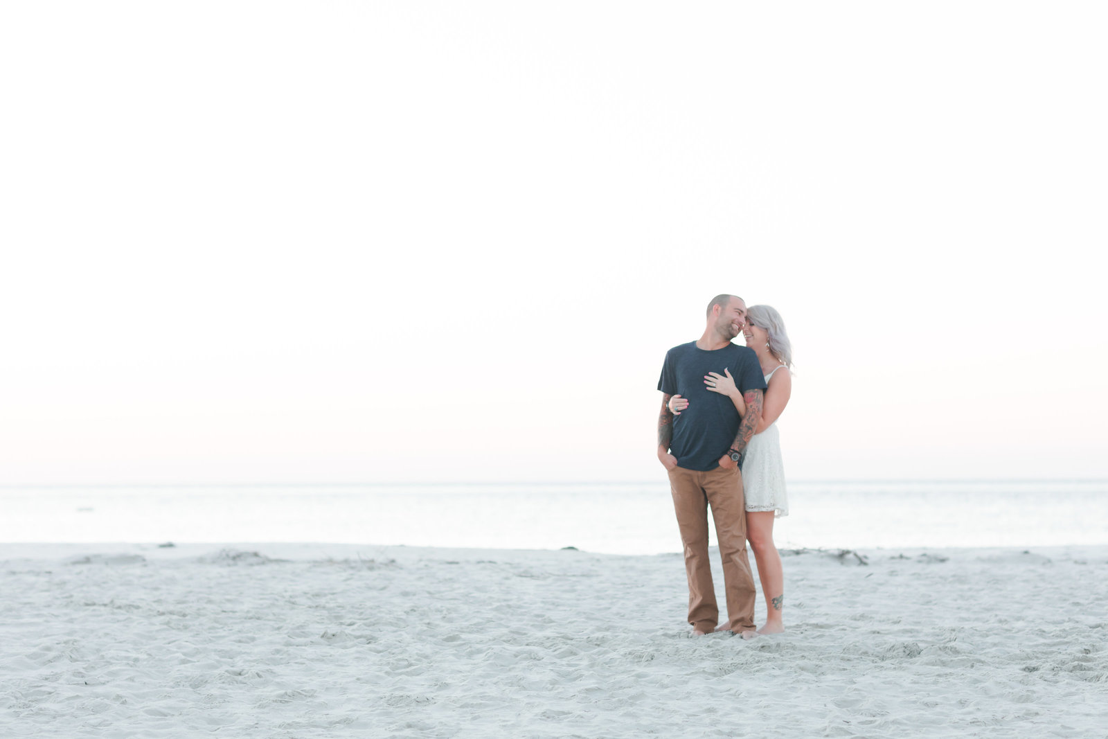 Cape Charles Sunset Engagement Session by Elizabeth Friske Photography-14