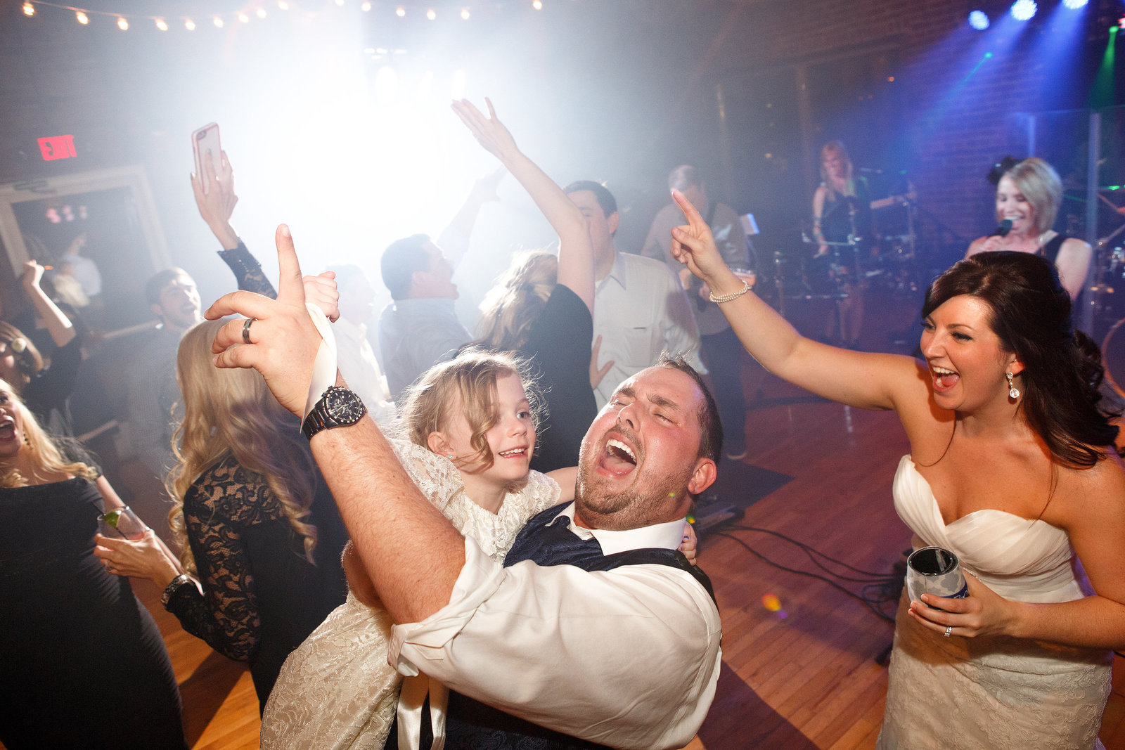 Cannery-One-Wedding-Reception-Groom-Air-Guitar