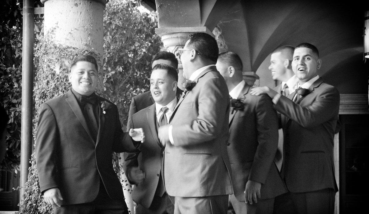 Wedding At villa siena venue