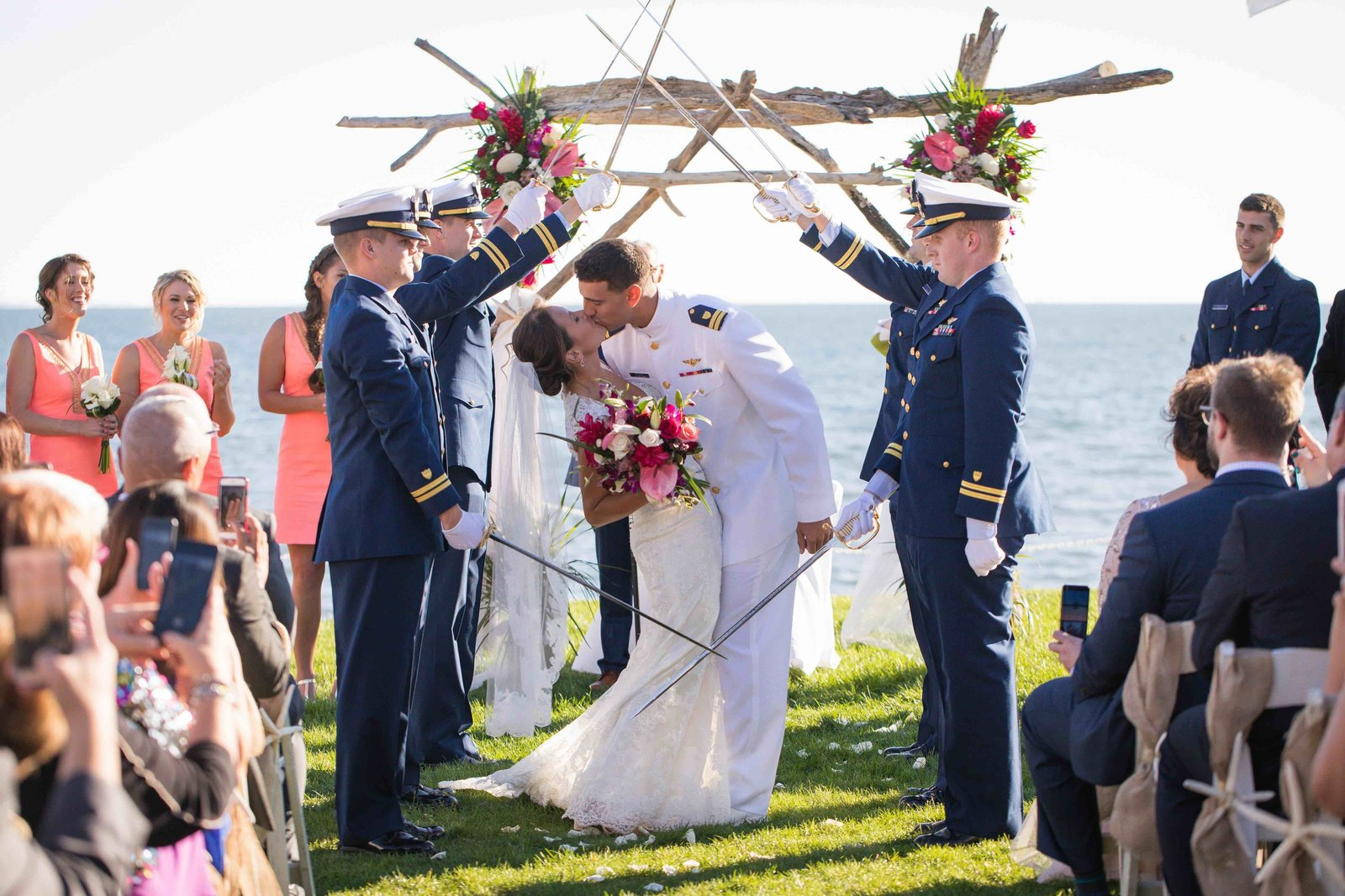 02 Coast Guard Wedding at Waters Edge Resort and Spa
