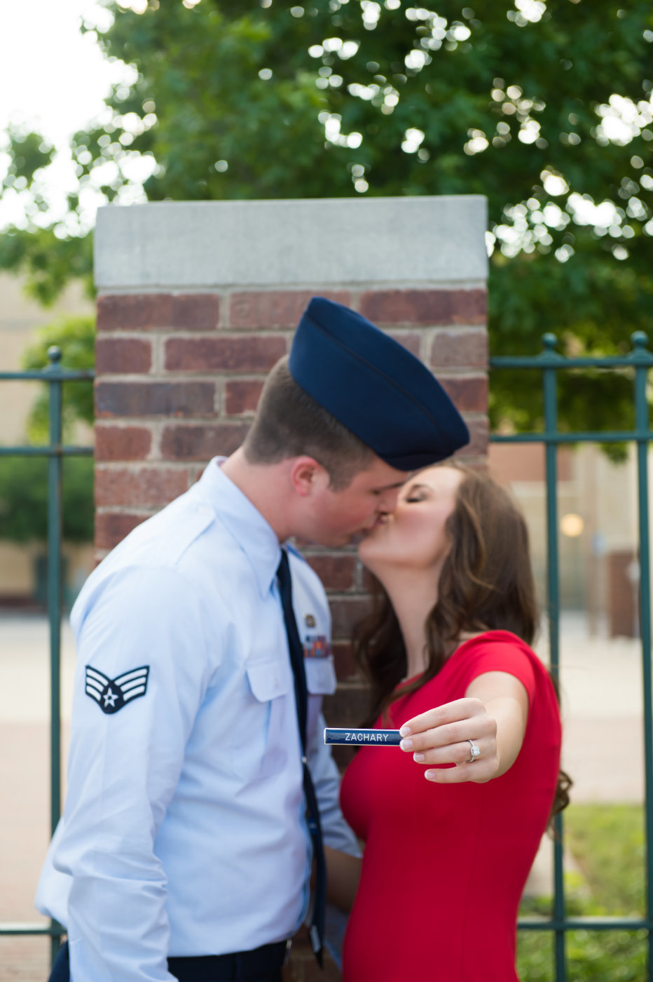 Denton Military Engagement Photo by Brittany Barclay Photogrpahy