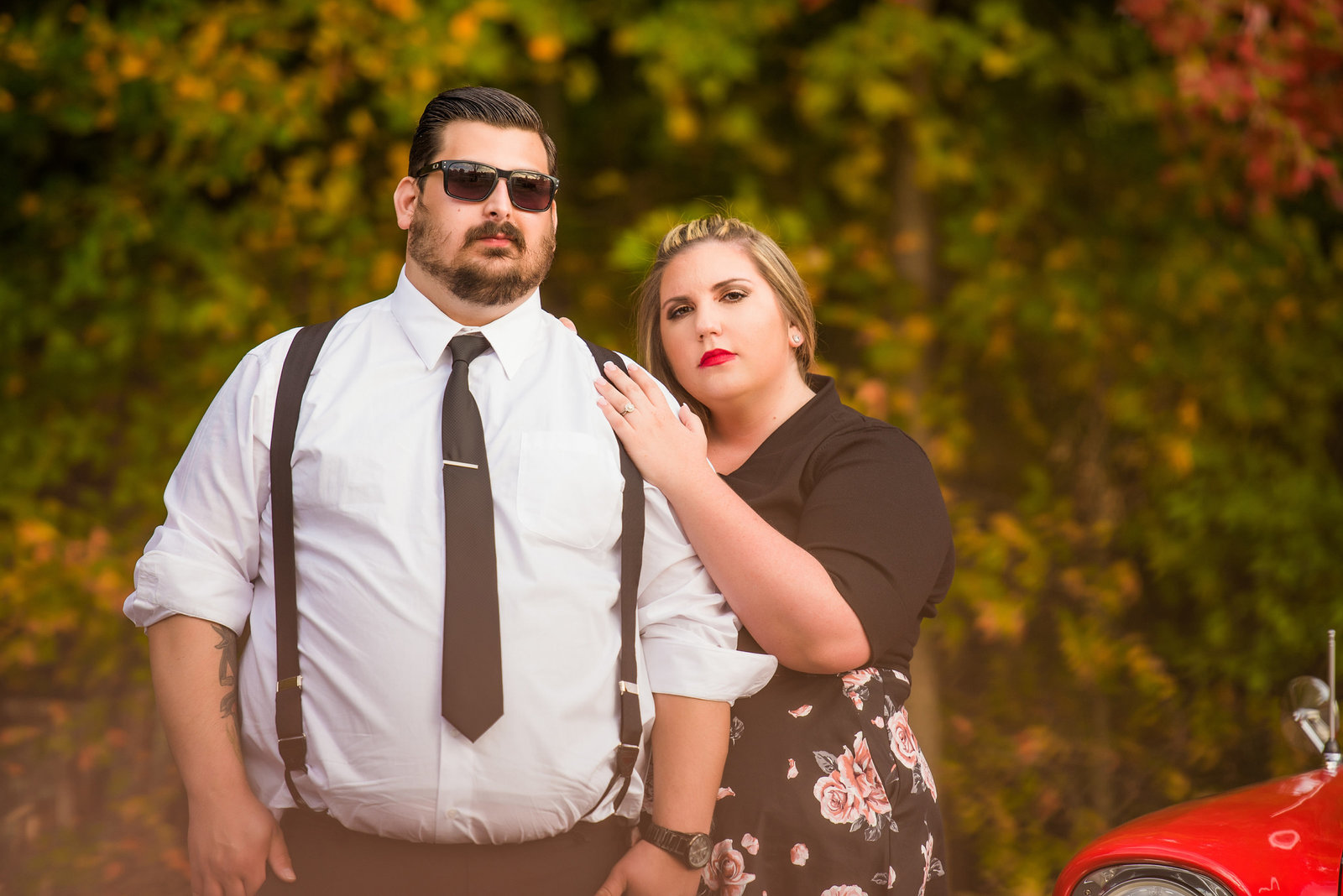 Retro_Pinup_Car_engagement_session_Nj081