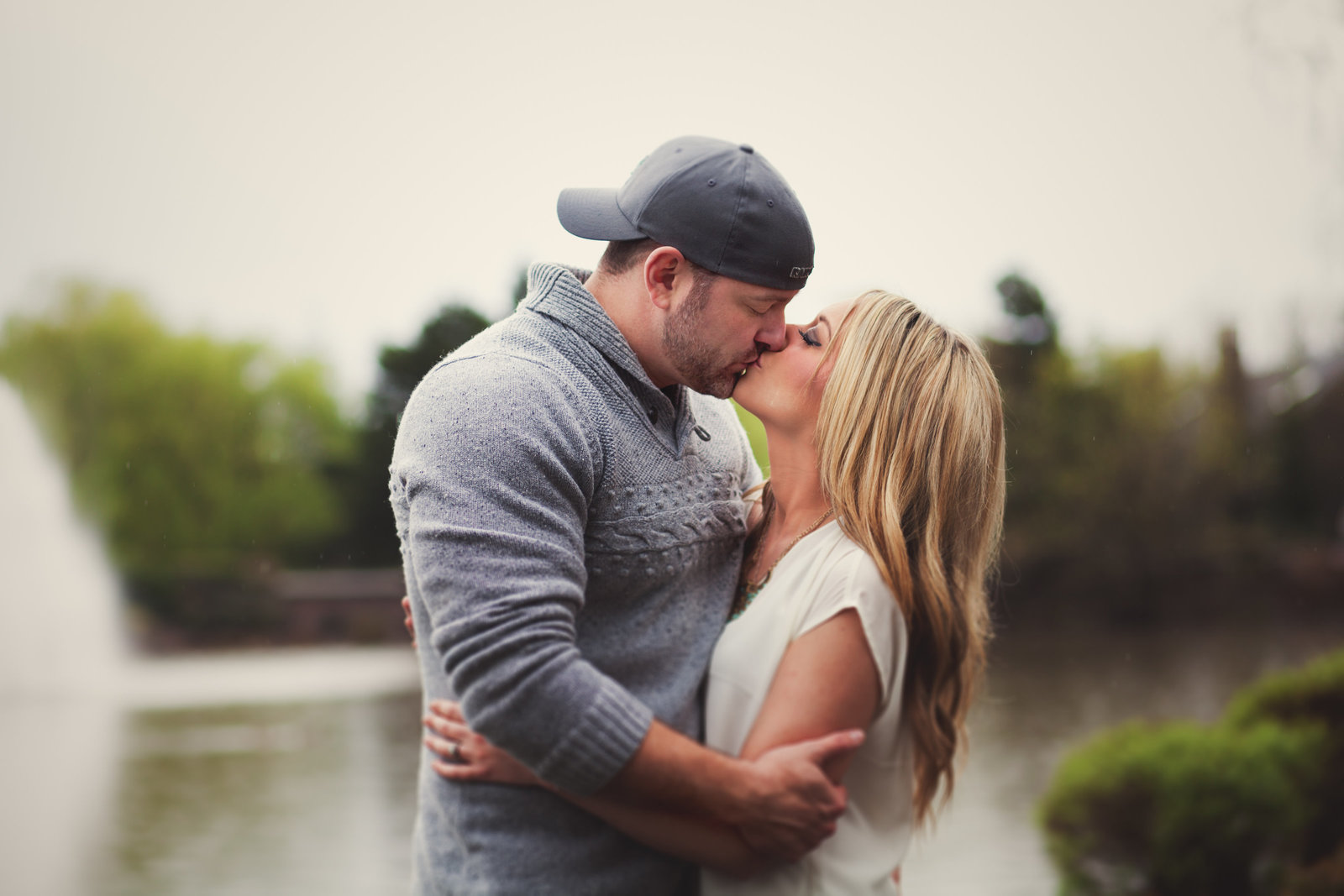Beaverton Oregon outdoor engagement photo | Susie Moreno Photography