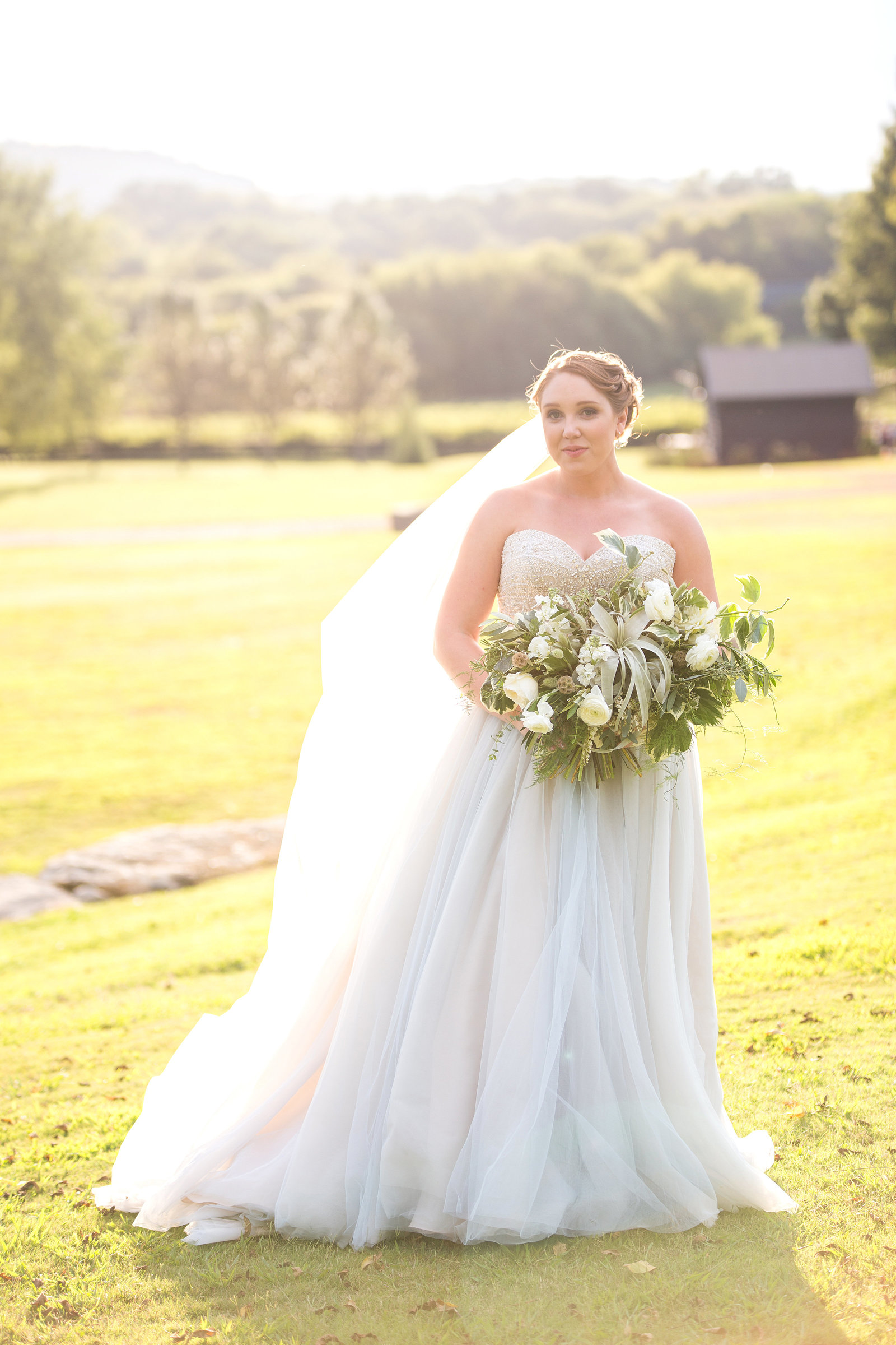 Arrington Vineyards wedding outdoors
