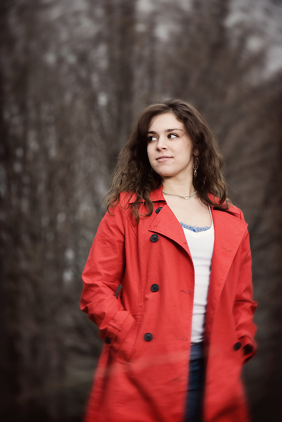 New Milford, CT Senior portrait casual photos by Hudson Valley NY photographer