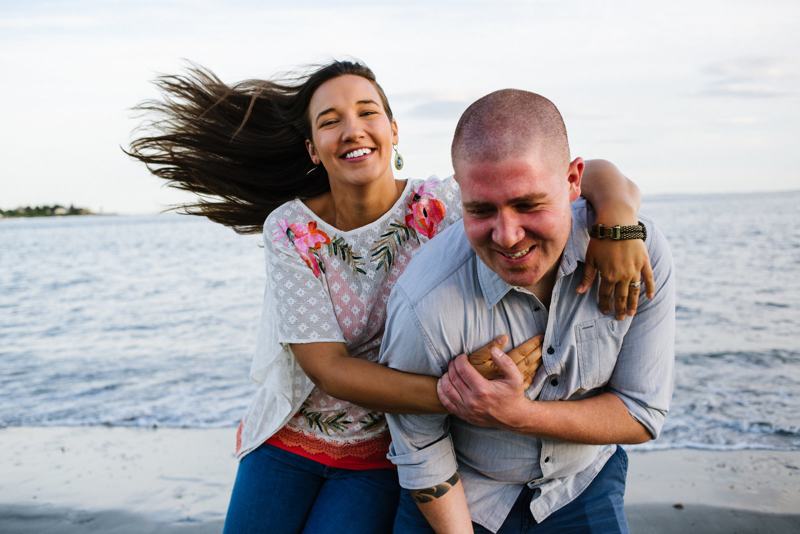 Beachside Engagement Session
