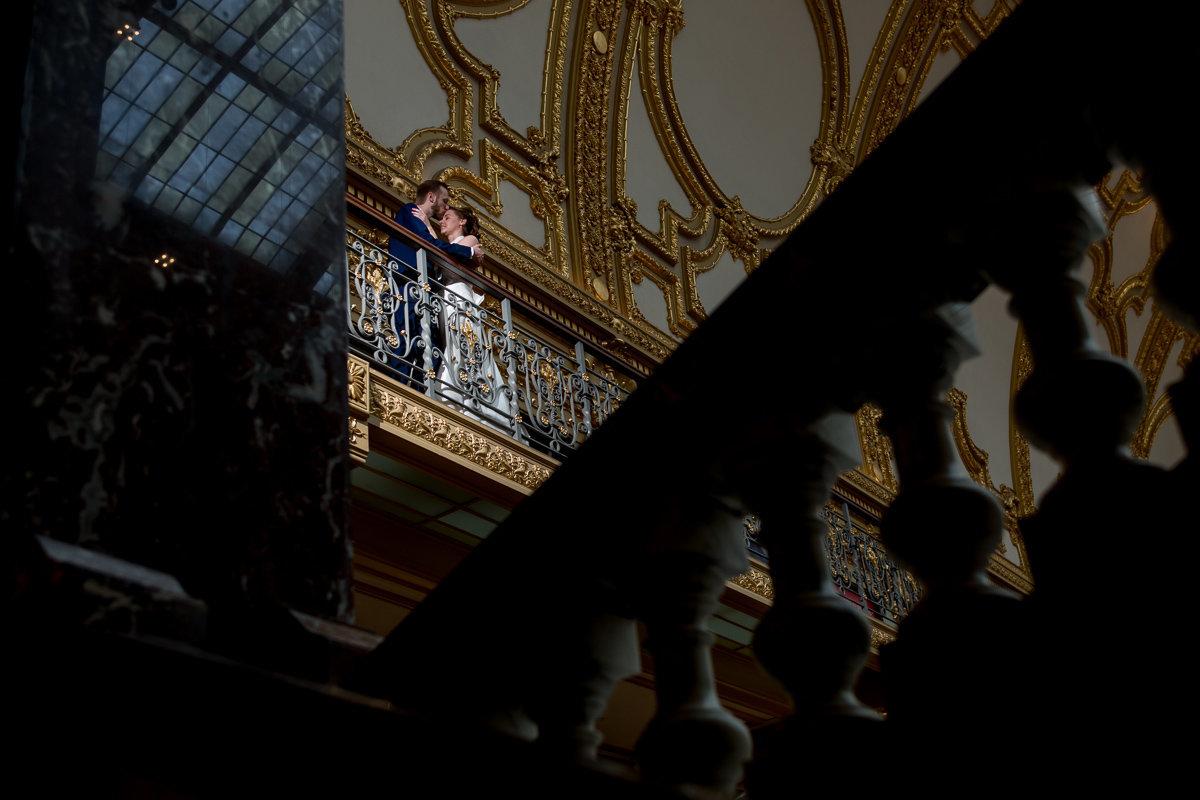 Horta Antwerpen trouw Emilie en Jan foto
