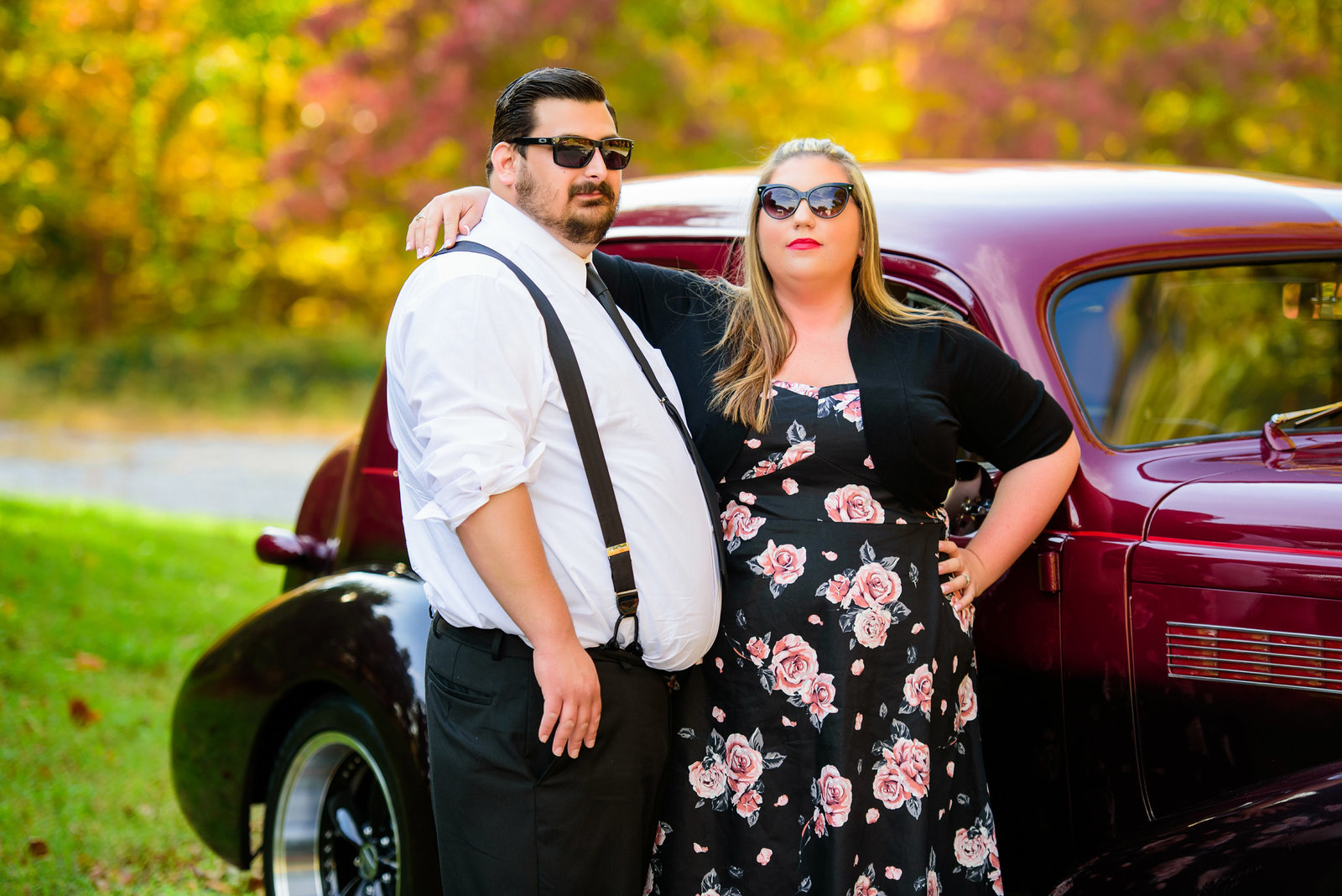 Retro_Pinup_Car_engagement_session_Nj004