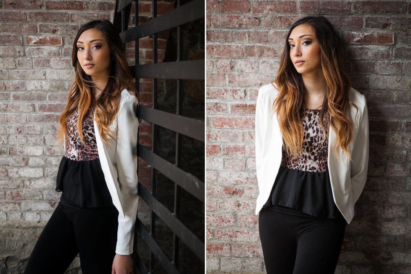 Fashion inspired senior photos in Oregon