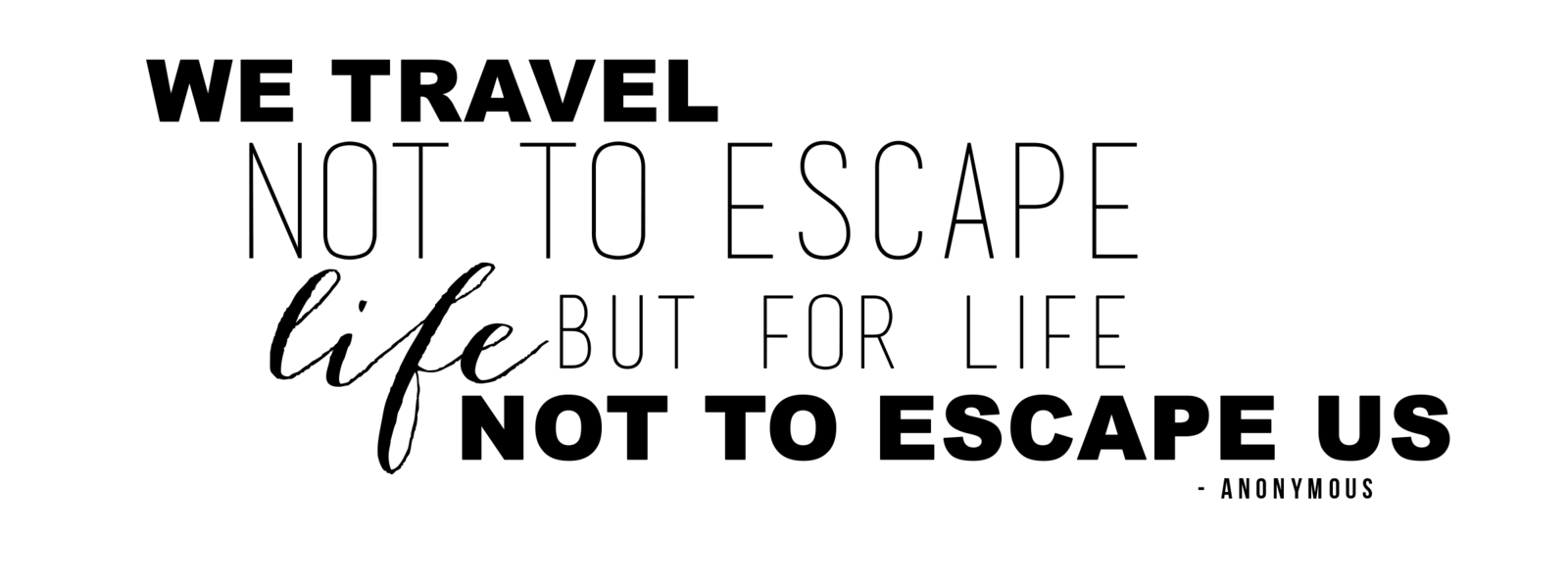 We Travel