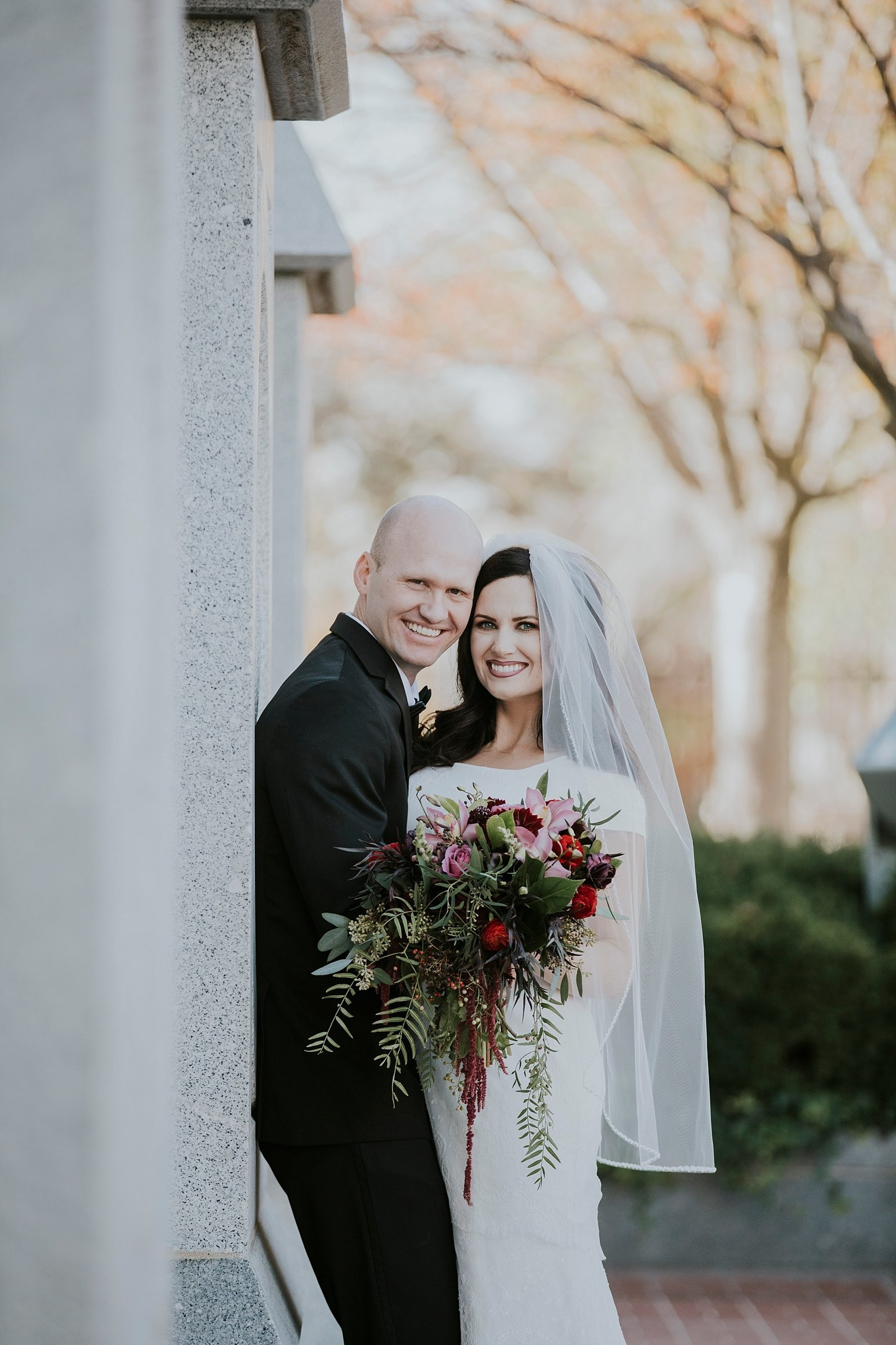 Utah Wedding Photographer Kamille Bauer Cody Calderwood Salt Lake Temple Salt Lake Hardware Building_0298