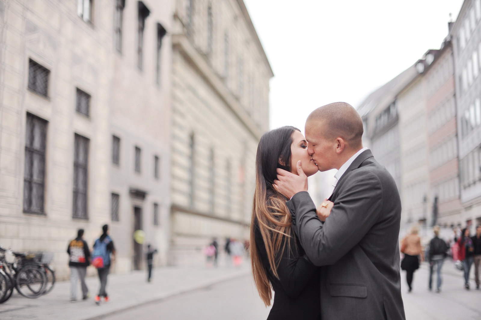 Munich Germany engagement photos