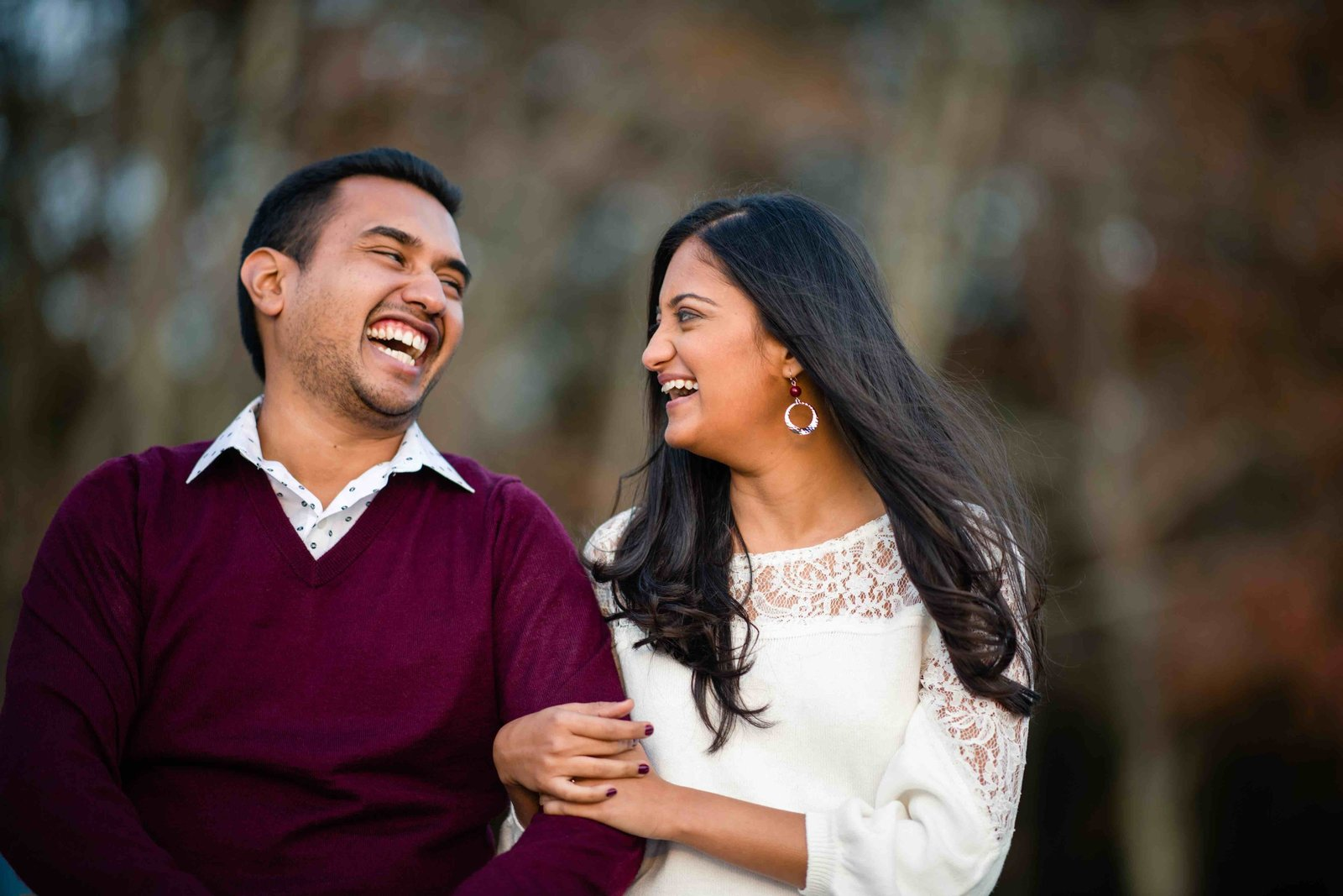 09 fall engagement photos for hindu wedding connecticut