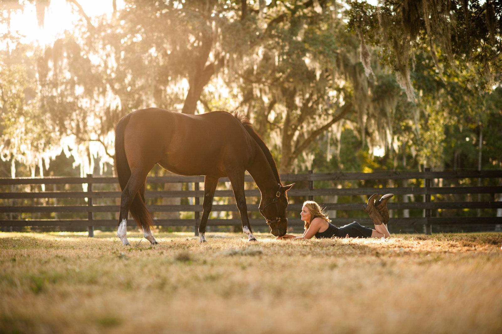 Equestrian Senior Portraits