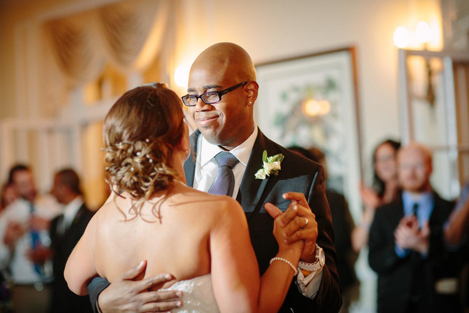 Woodend Sanctuary Wedding Dancing
