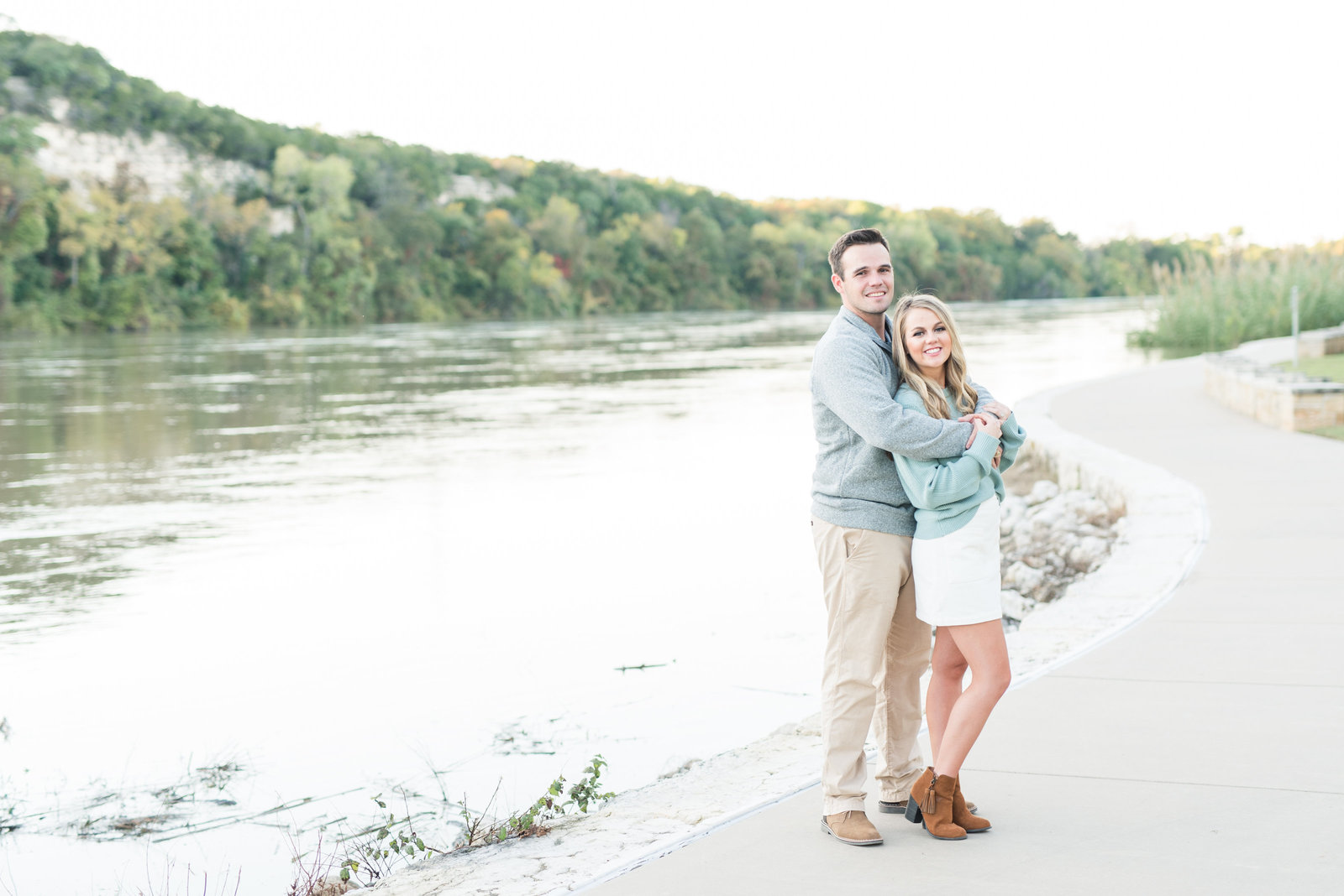 College Station Texas engagement session