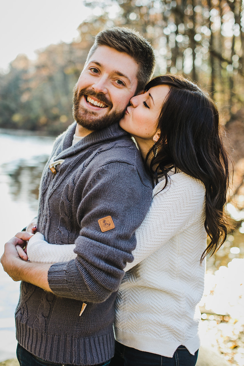 Engagement photos in west bend, WI
