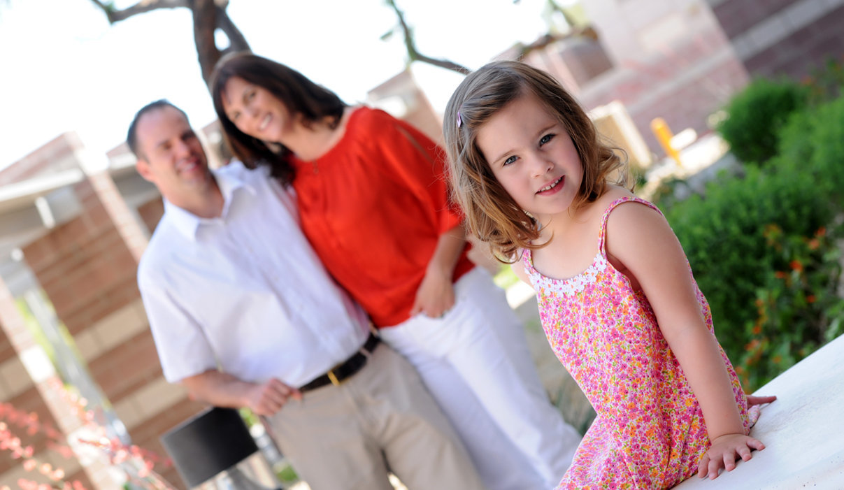 Family Session daddys girl