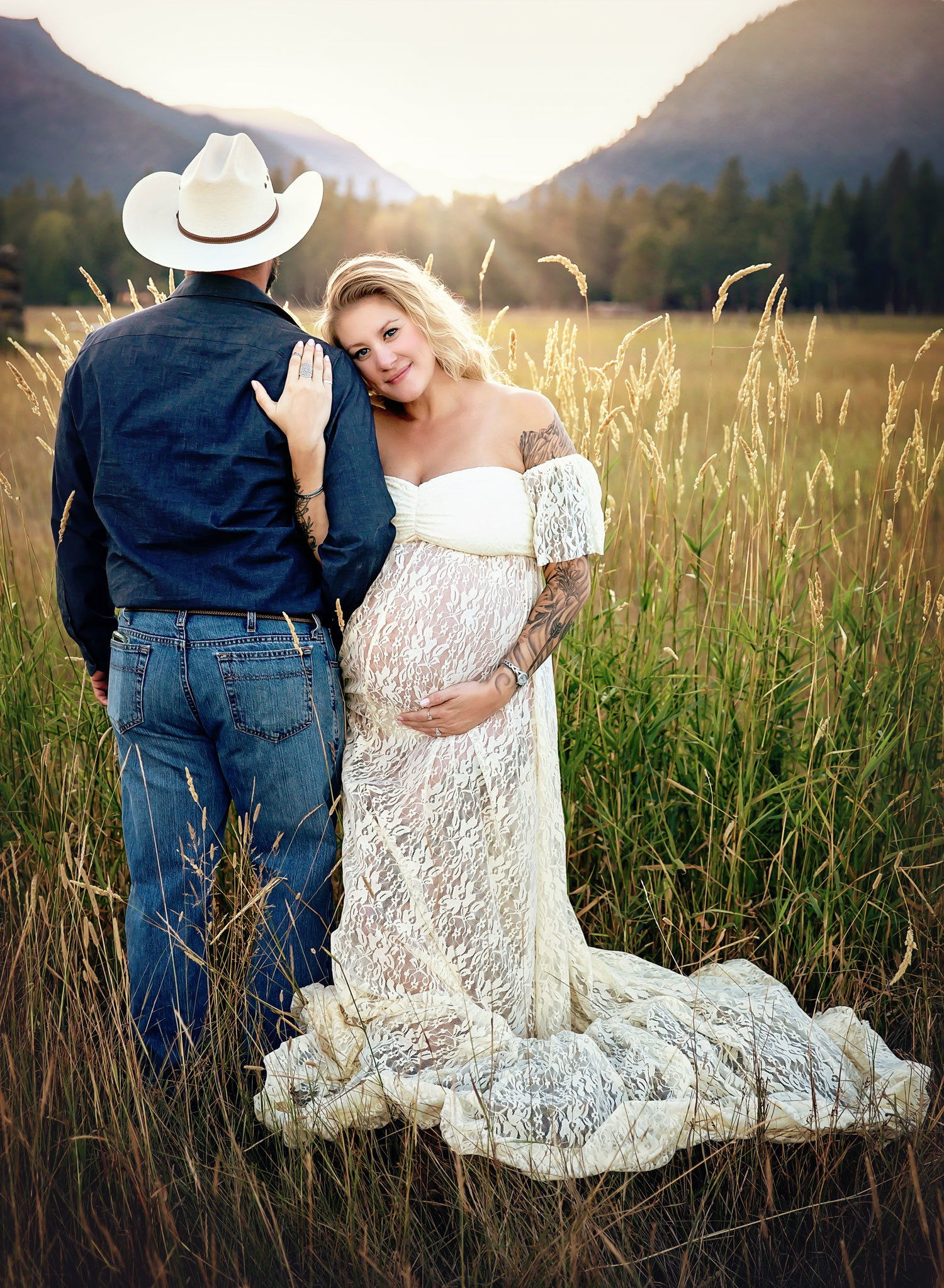 montana maternity photography