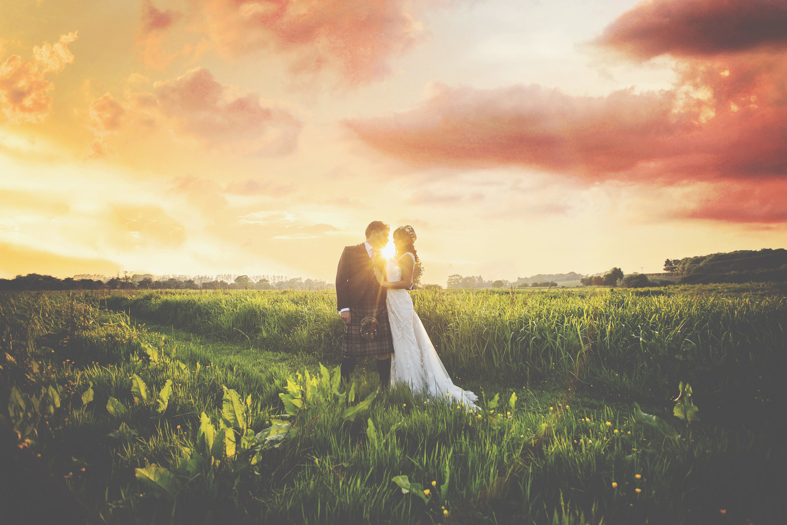 wedding portrait couple at sunset. Norwich Wedding photography by Jessica Elisze,