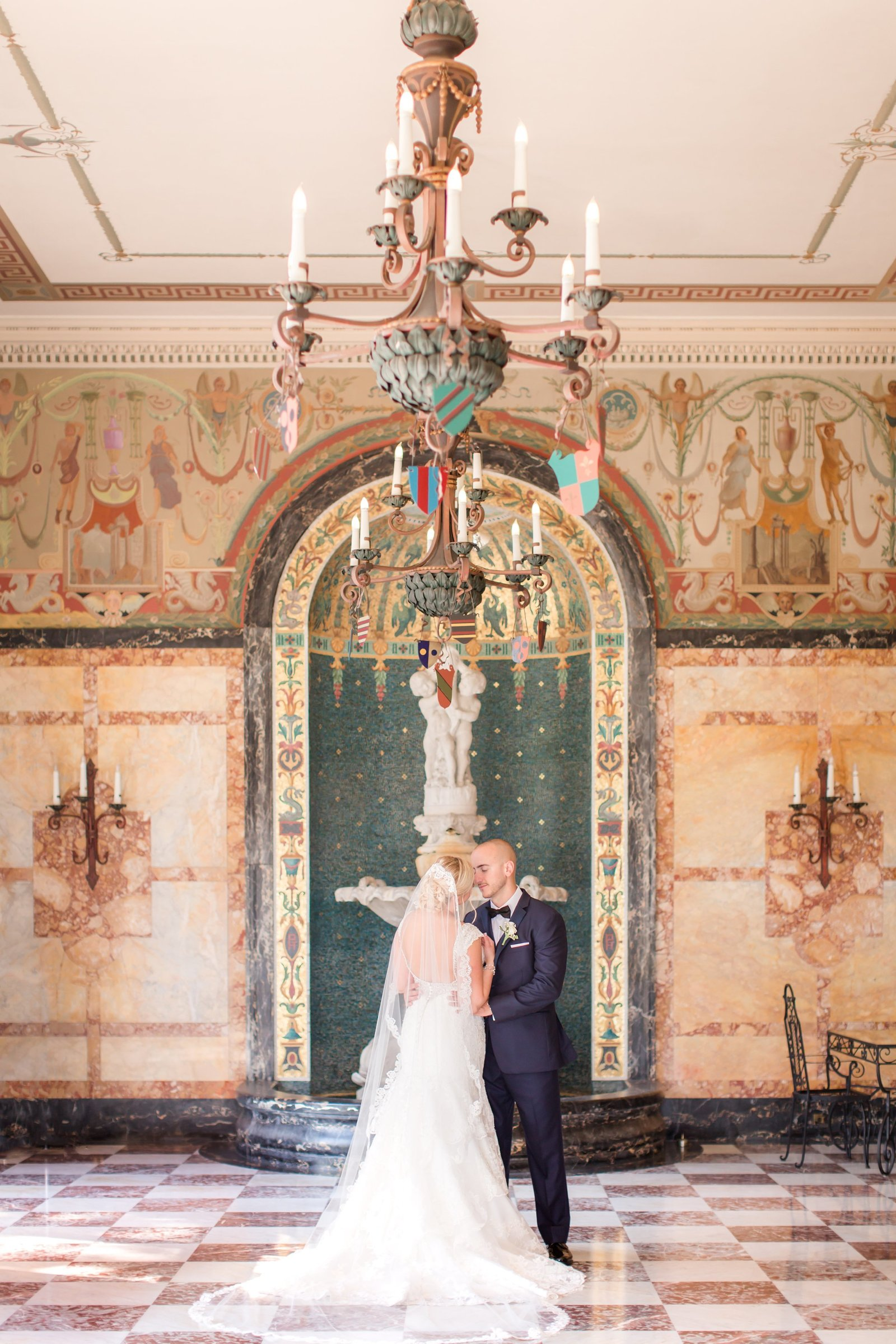 Monmouth University Wedding Portrait