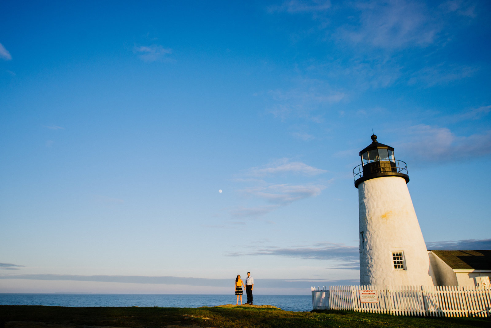 Pemaquid Engagement Session