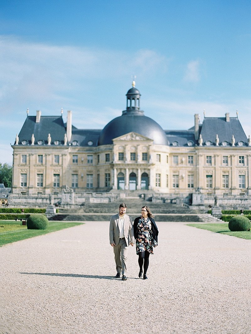christina zen paris chateau vicomte engagement (2)
