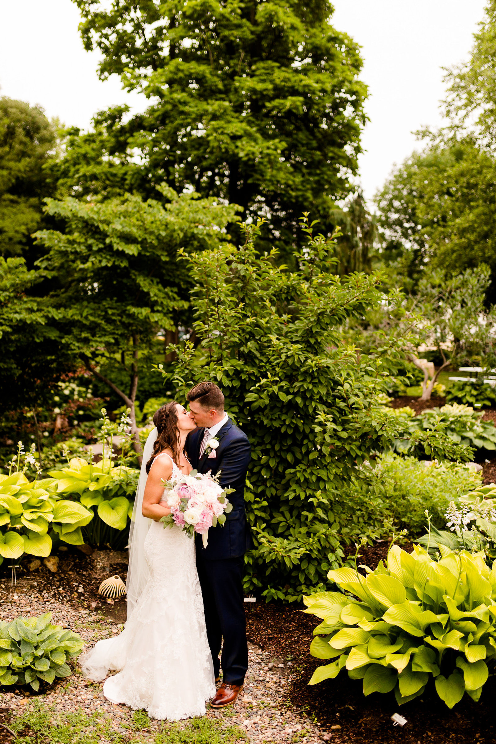 The Barn at Hornbaker Gardens Wedding Photos-43