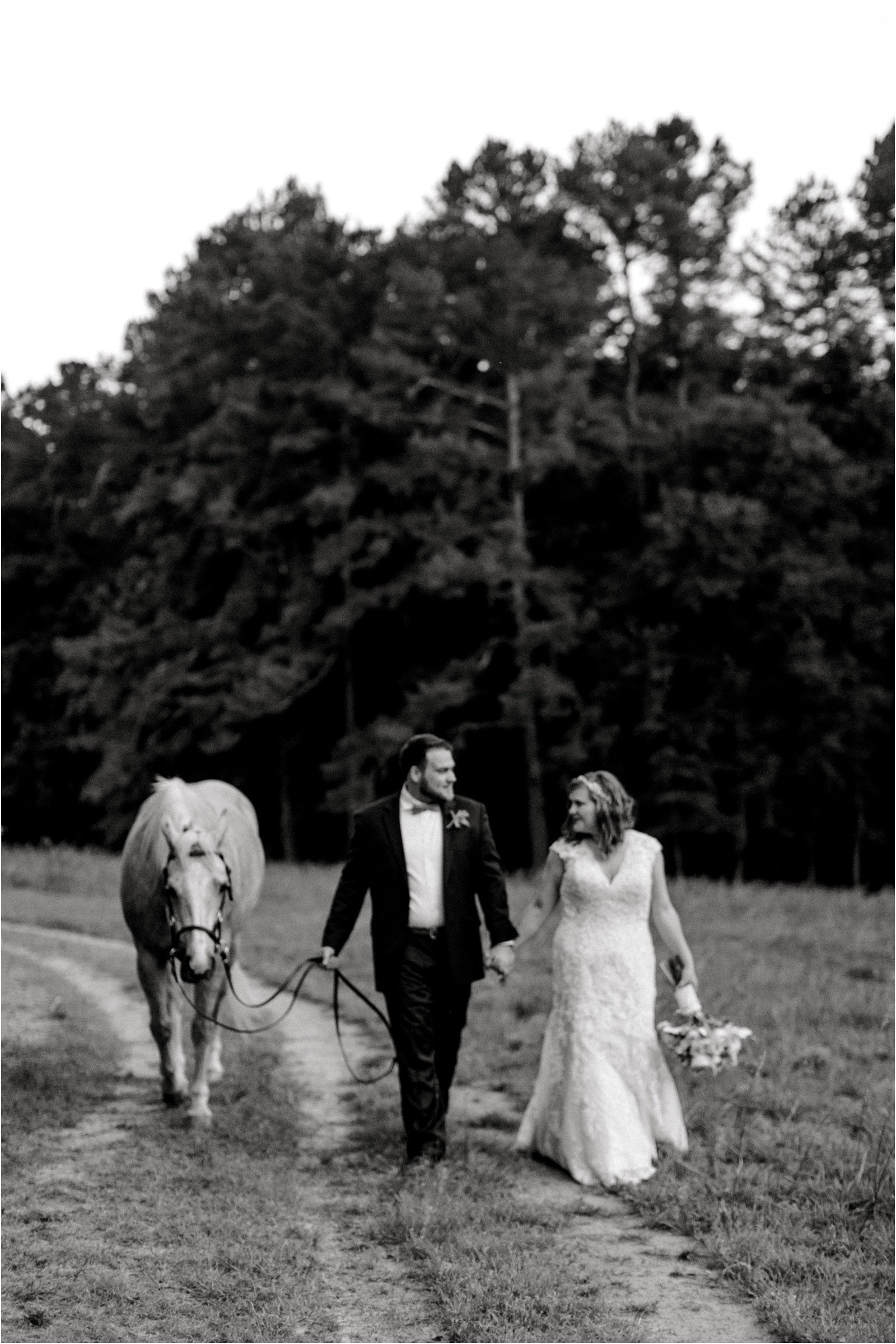 Chapel in the Woods Rustic Country Vintage Wedding Raleigh NC Plume Events Andrew & Tianna Photography-26