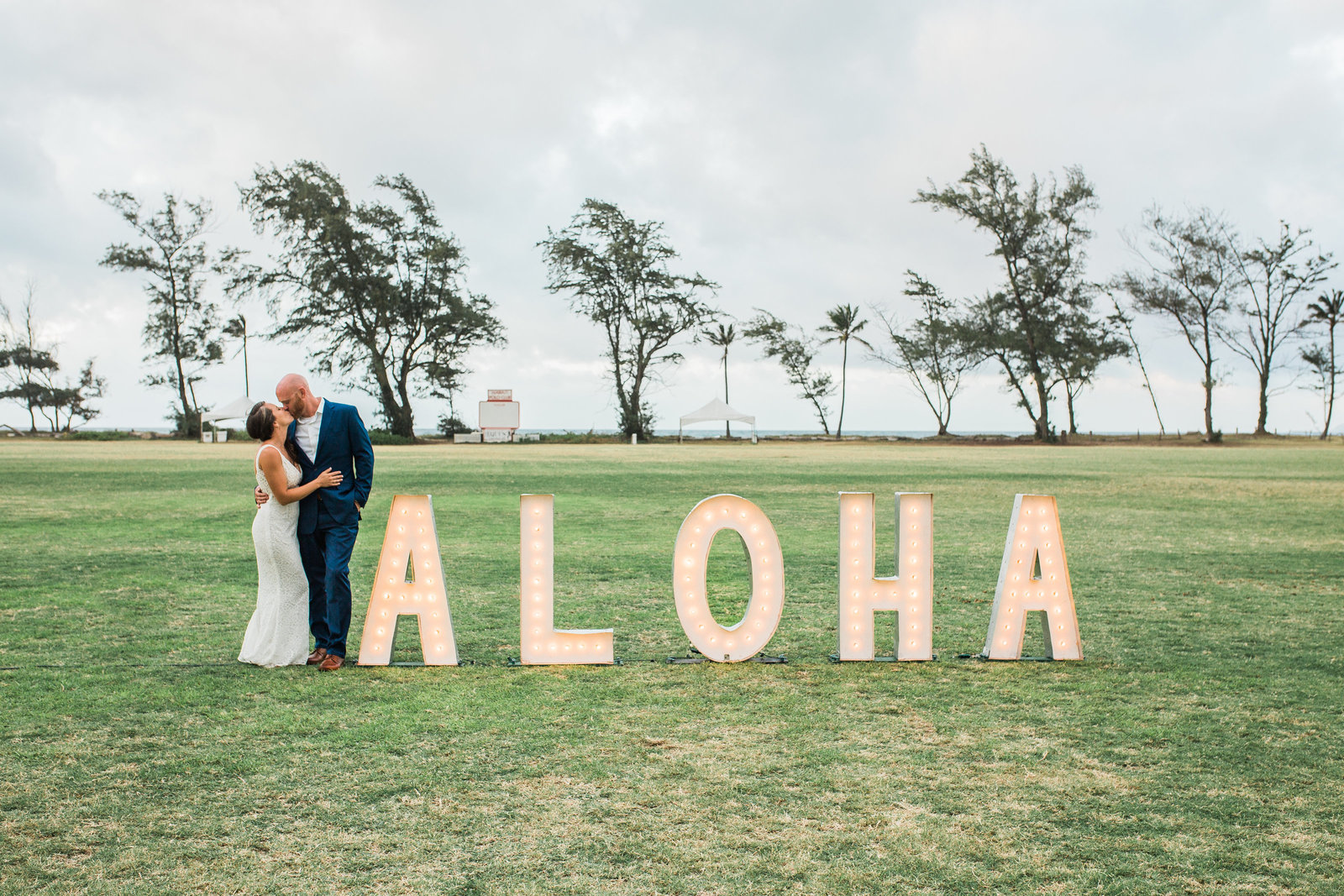 Hawaii Polo Club Wedding