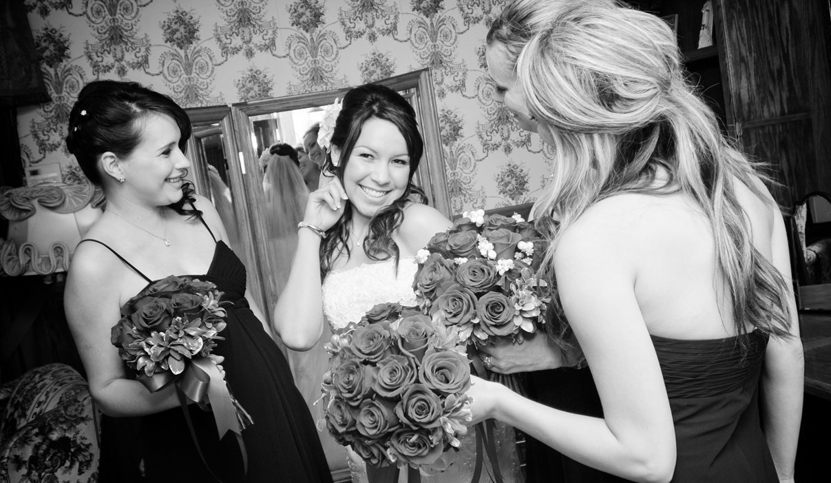 Vintage wedding at the Wright House
