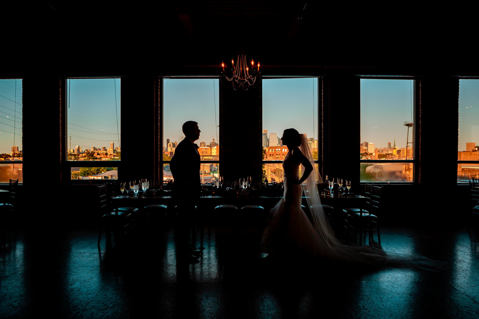 City View Loft Wedding