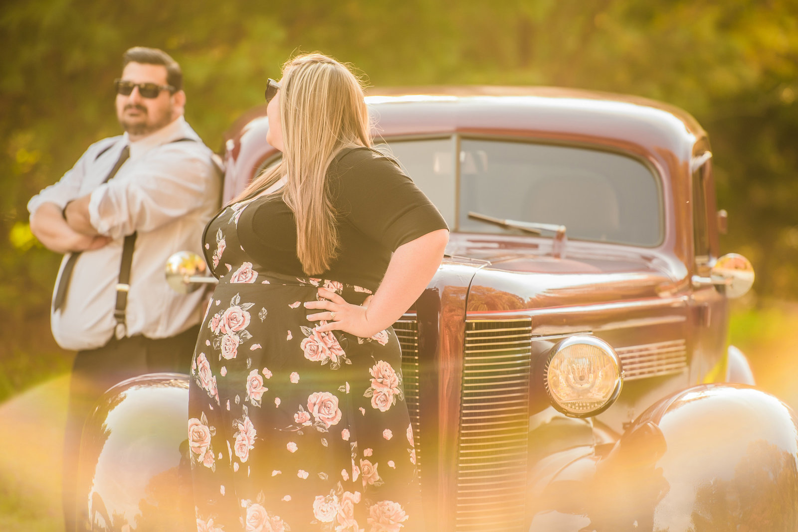 Retro_Pinup_Car_engagement_session_Nj013