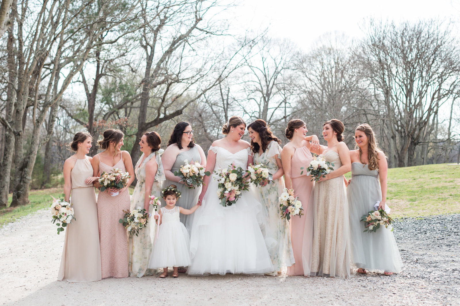 Stacy and Michael Married-Wedding Party-Samantha Laffoon Photography-69
