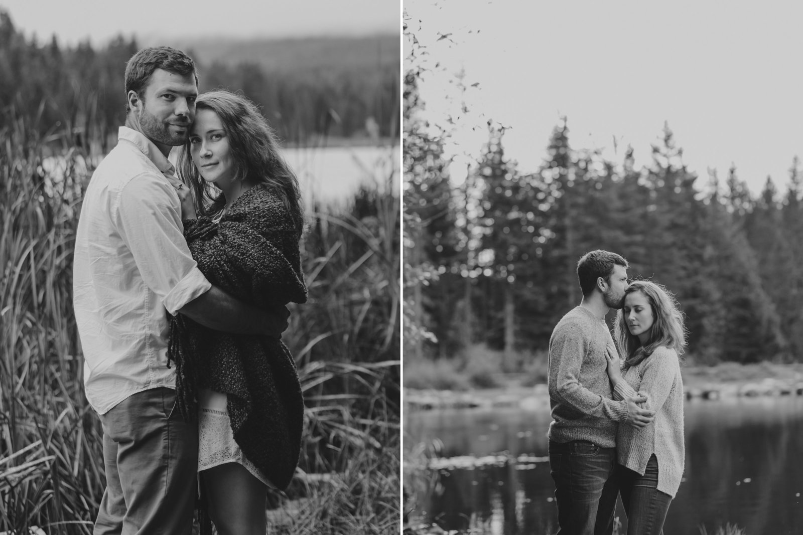 Oregon Lake Engagement