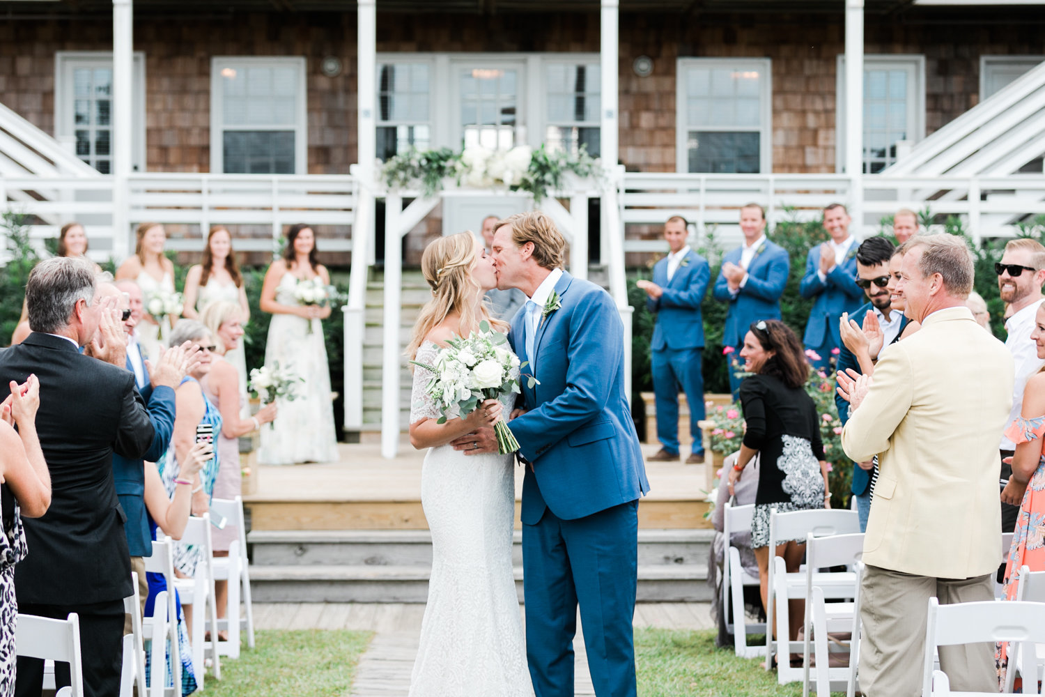 Nags Head Wedding by Virginia and Destination Wedding Photographer Elizabeth Friske Photography-37
