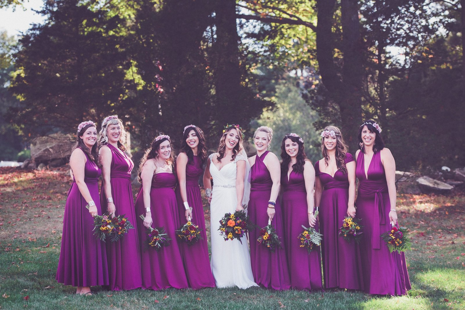 bridal party, wedding photography