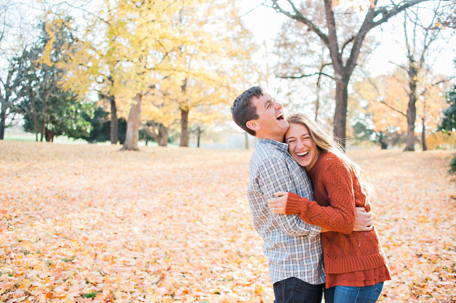 Nashville Fall Engagement session