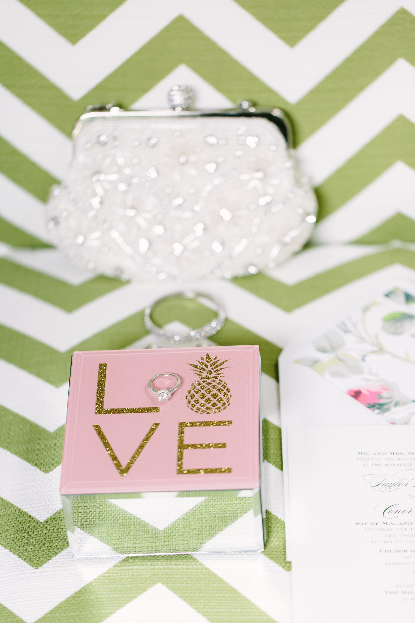 wedding details and invitation suite