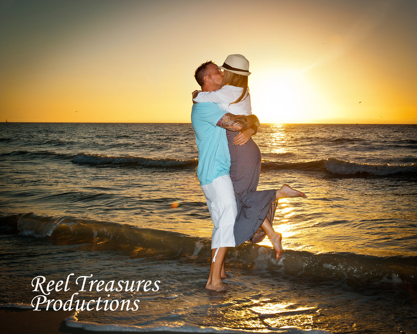 Reel Treasures Productions Engagement Shoot in Naples FL.