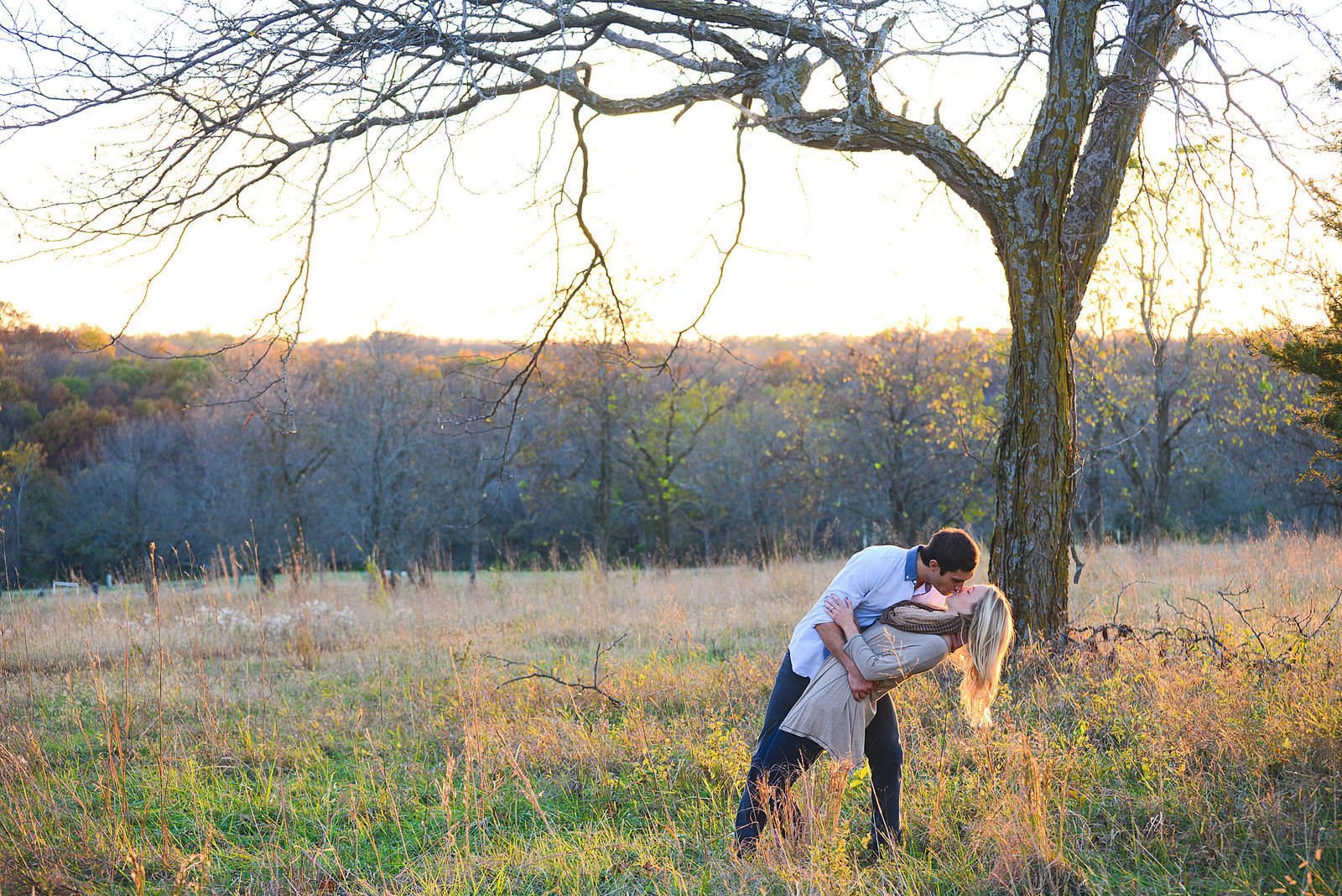 Engagement Pictures at Shawnee Mission Park-67