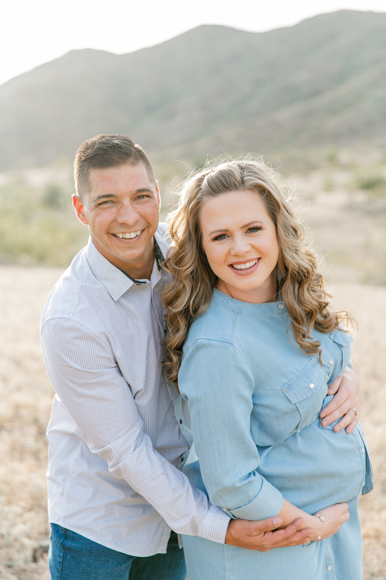 Karlie Colleen Photography - Arizona Maternity Photography - Brittany & Kyle-87
