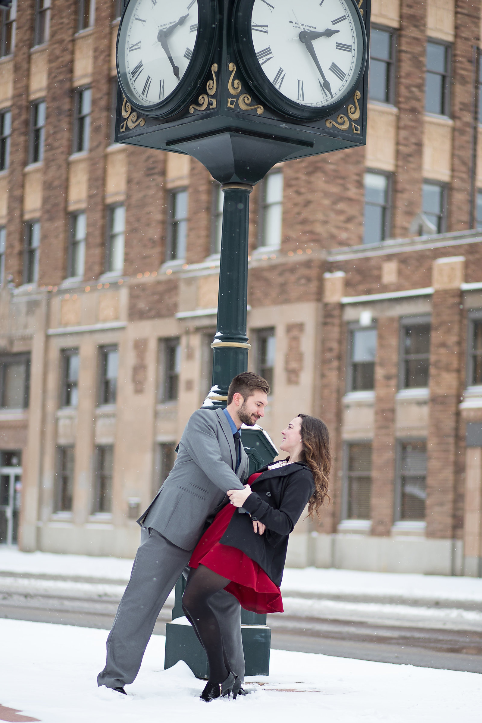 Downtown Iron Mountain Michigan Engagement & Wedding Photographer at http://www.photosbyciera.com